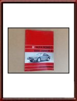 1972 Alfa Romeo 1600 Junior Z Zagato Owners Manual